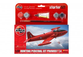 Airfix Hunting Percival Jet Provost T.4 Starter Set 1:72