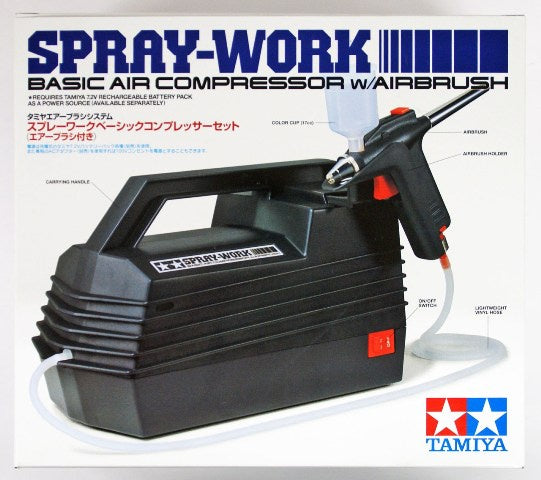 Tamiya 74520 Spray Work Basic Airbrush System
