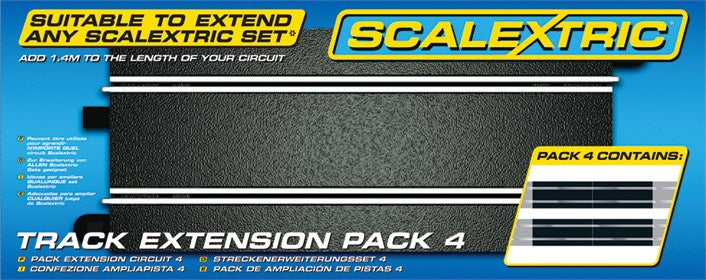 Scalextric C8526 Track - Extension Pack 4