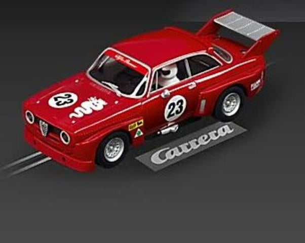 Carrera Evo Alfa GTA Silhouette Red #23