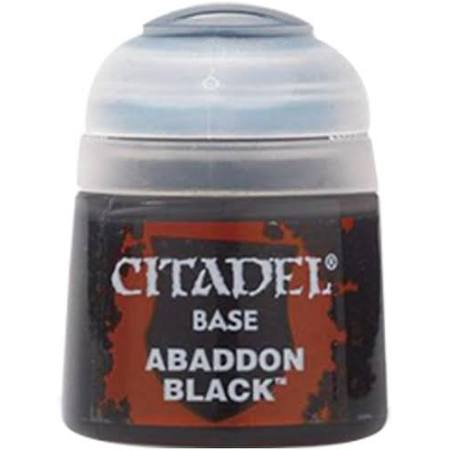 Games Workshop 21-25 Citadel Abaddon Black