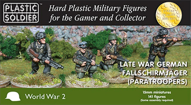 PSC WW2015013 Late War German Fallschirmjager