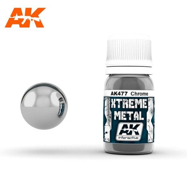 AK-Interactive AK477 Xtreme Metal Chrome