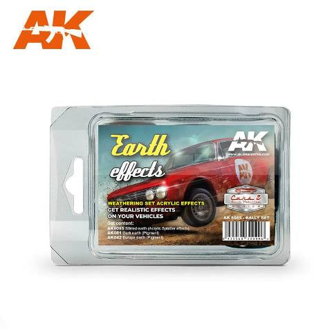 AK-Interactive Rally Car Earth Effects Set