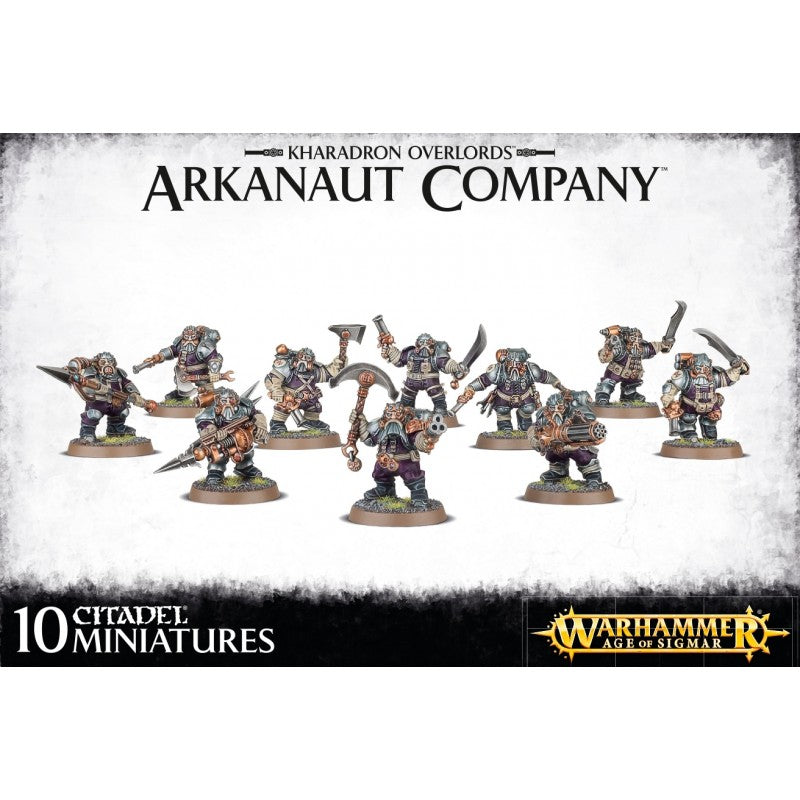 Games Workshop 84-35 Kharadron Overlords Arkanaut Company