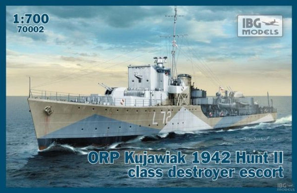 IBG 70002 ORP Kujawiak 1942 Hunt II Class Destroyer Escort