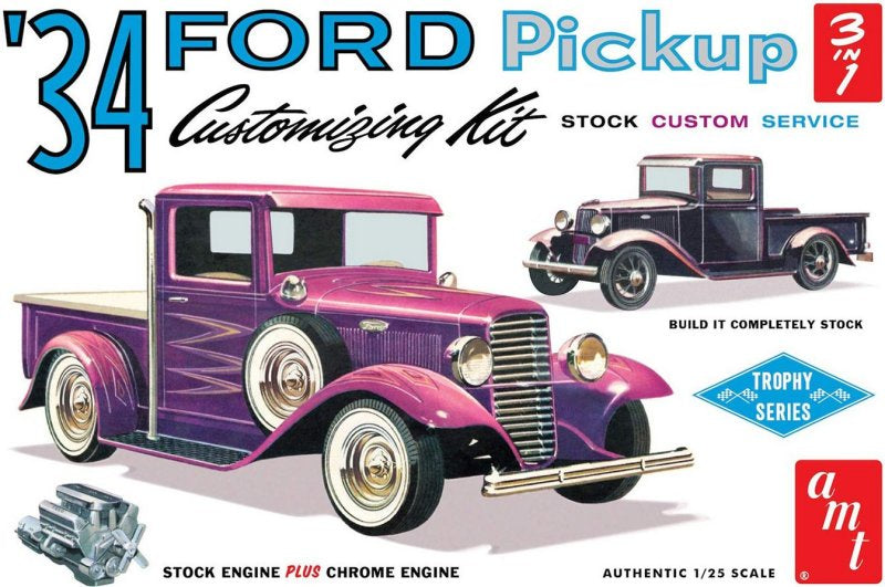 AMT 1120 1934 Ford Pickup