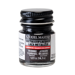 Model Master Metalizer Titanium - Buffing
