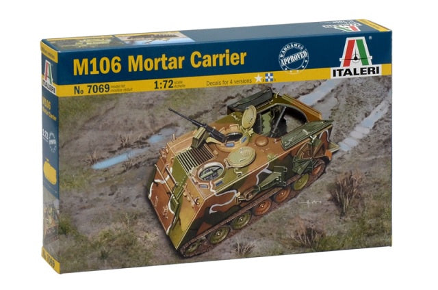 Italeri 7069 M106 Mortar Carrier