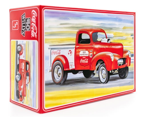 AMT 1145 1940 Willys Pickup - Coca Cola