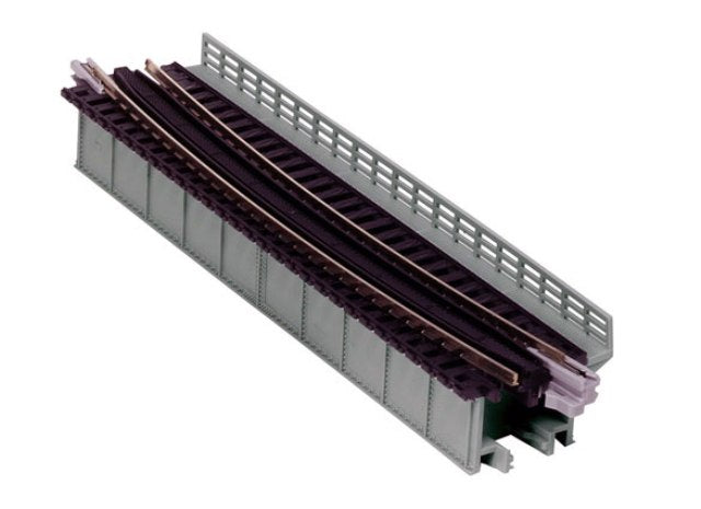 Kato 20-467 Unitrack Curved Deck Girder Bridge 448mm R - Grey