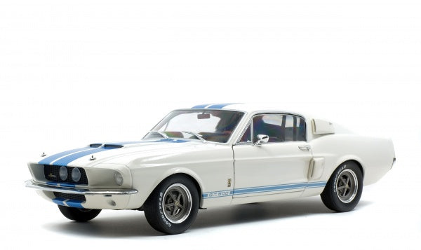 Solido 1802901 Shelby Mustang GT500 - White with Blue Stripes