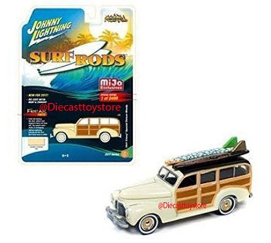Johnny Lightning MiJo Surf Rods 1941 Chevy Special Deluxe Woody