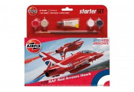 Airfix RAF Red Arrows Hawk Starter Set 1:72