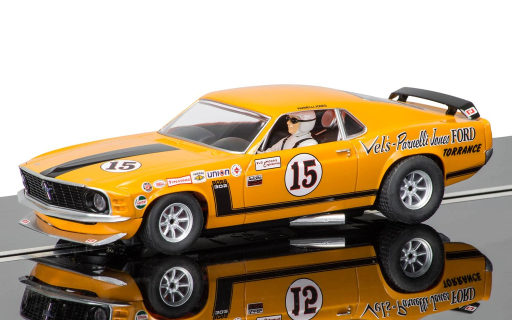 Scalextric C3651 Ford Mustang Boss 302 Parnelli Jones