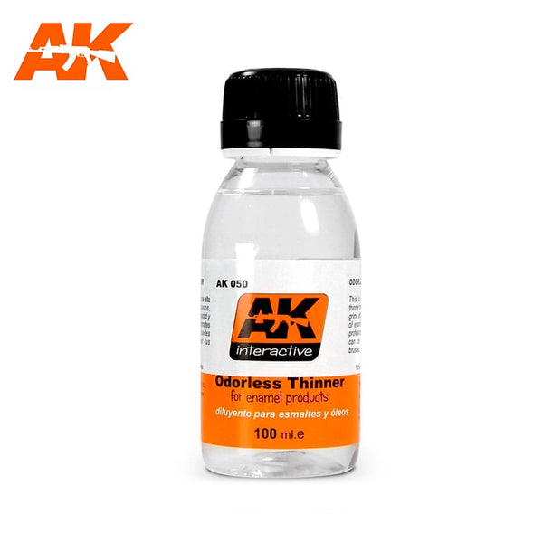 AK-Interactive AK050 Odourless Thinner 100ml