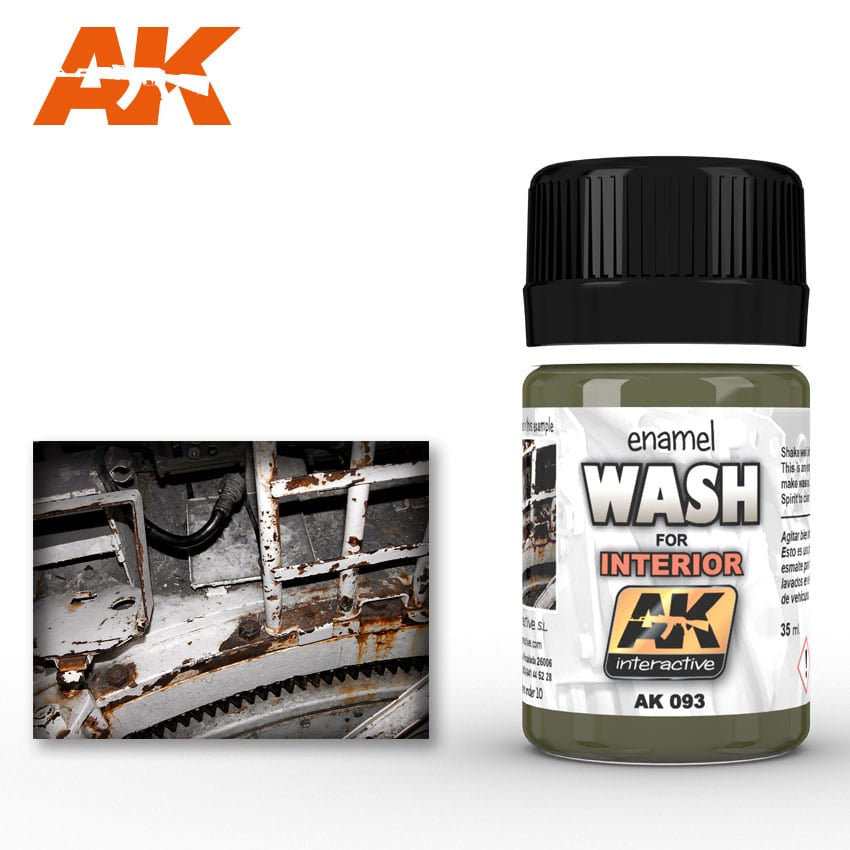 AK-Interactive AK093 Wash – Interiors 35ml