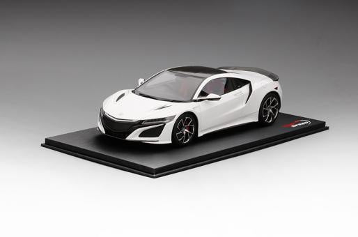 Top Speed Honda NSX 2017 White with Carbon Package