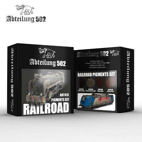Abteilung 502 Railroad Pigments Set