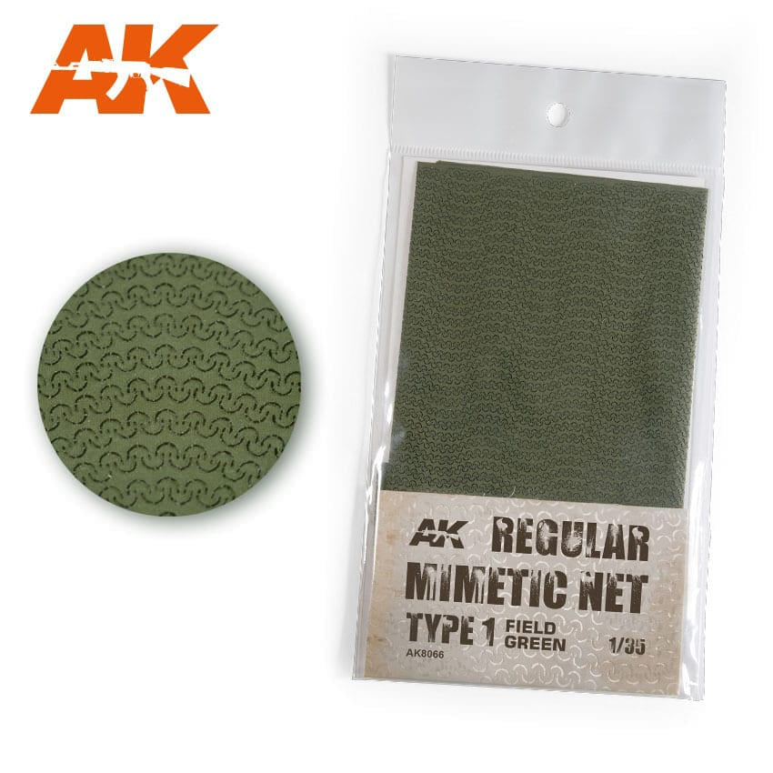 AK-Interactive AK8066 Regular Mimetic Net type 1 Field Green