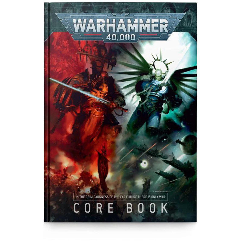 Games Workshop 40-02 Warhammer 40000: Core Book 2020