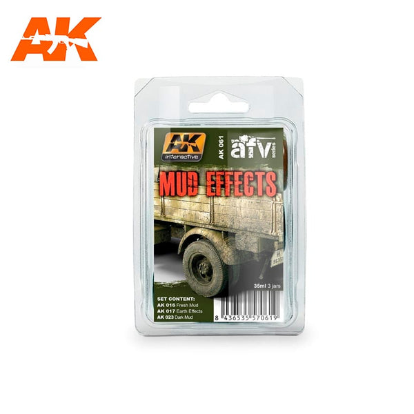 AK-Interactive AK061 Mud Effects Set
