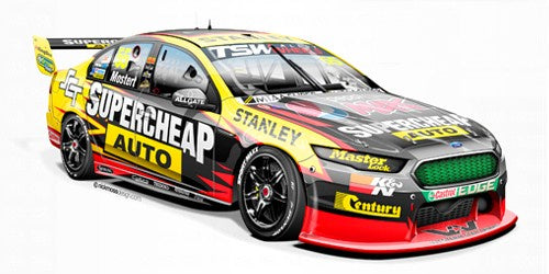 Apex Ford FG #55 Mostert 2016 Perth Supersprint