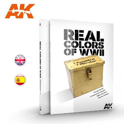 AK-Interactive AK187 WWII Real Colors - English