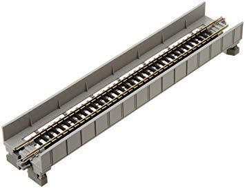 Kato 20-452 Unitrack Single Plate Girder Bridge 186mm - Grey
