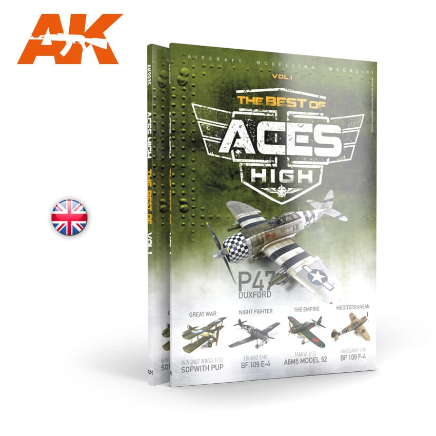 AK-Interactive AK2925 Aces High Best Of Vol.1