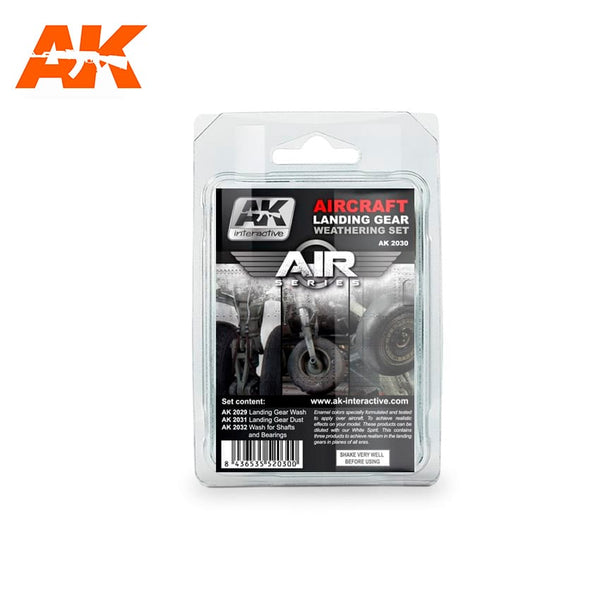AK Interactive AK2030 Landing Gear Set