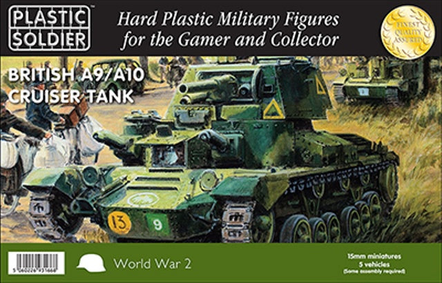 PSC WW2V15029 British A9/A10 Cruiser Tank