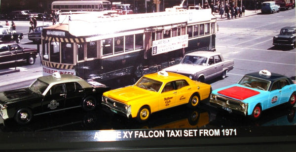 Aussie Road Ragers Ford Falcon 1971 Taxi Set
