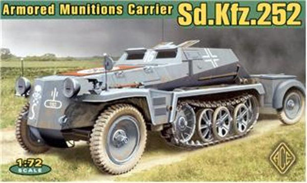 ACE Models 72238 Armoured Munitions Carrier Sd.Kfz.252