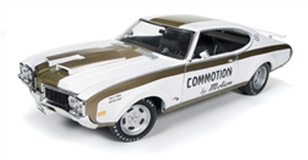 Auto World AMM1034 1969 Hurst Oldsmobile 455 'Commotion by Motion'