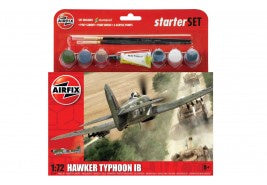 Airfix Hawker Typhoon Starter Set 1/72