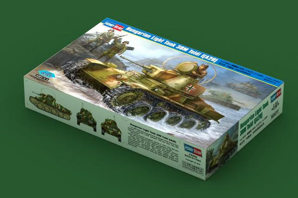 Hobby Boss 82477 Hungarian Light Tank 38M Toldi I(A20)