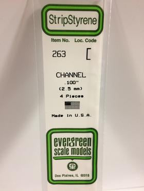Evergreen 263 Channel - 2.50mm