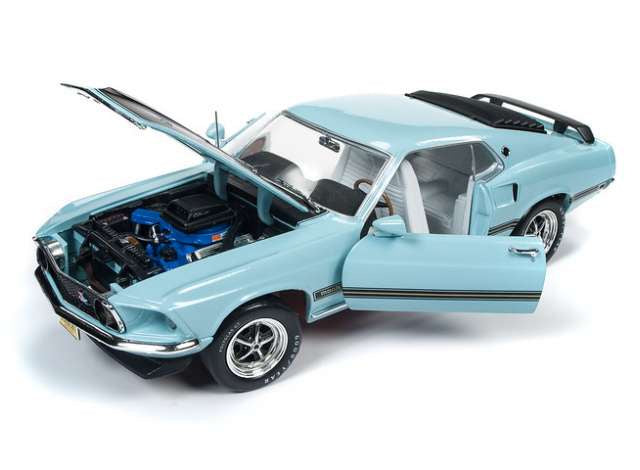 Auto World AMM1181 1969 Ford Mustang Mach 1 1969