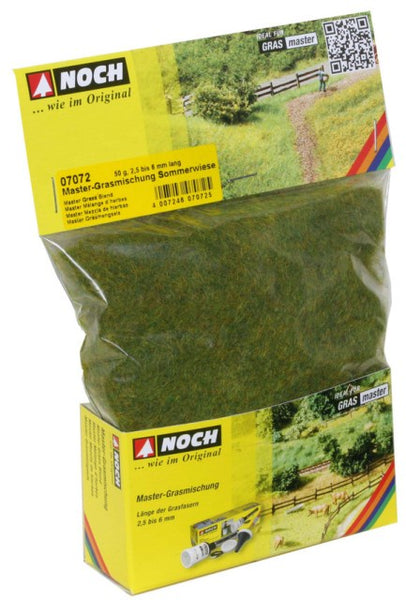 Noch 7072 Grass - Static 6mm - Summer Blend 50gm