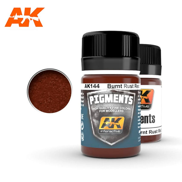 AK-Interactive AK144 Burnt Rust Red Pigment