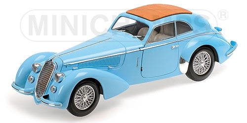 Minichamps 100120420 Alfa Romeo 8C 2900B Lungo 1938 - Light Blue