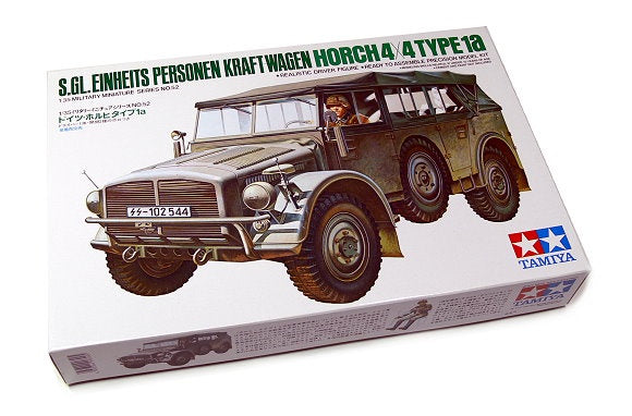 Tamiya 35052 Einheits Personnel Kraftswagen - Horch 4x4 Type 1a