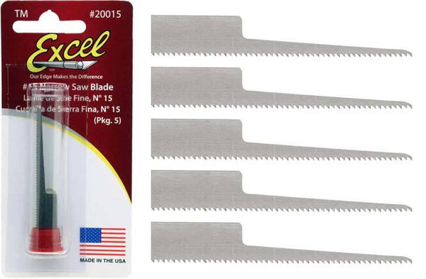 Excel EXC20015 Blades - #15 Saw Narrow (5)