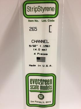 Evergreen 265 Channel - 4.00mm