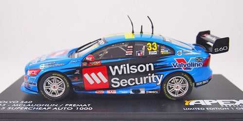 Apex Volvo S60 #33 2015 Bathurst McLaughlin/Percat