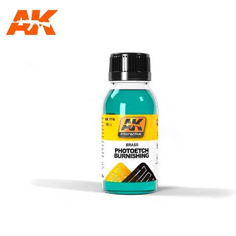AK-Interactive AK174 Photoetch Burnishing Fluid