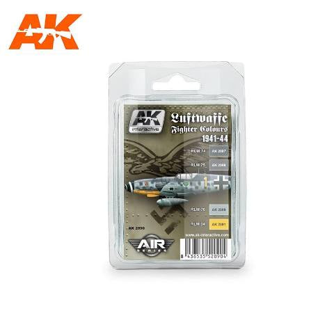 AK-Interactive AK2090 Luftwaffe Fighter Colors 1941-44 Set