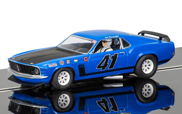 Scalextric C3613 Ford Mustang Boss 302 1969 Ed Hinchcliff