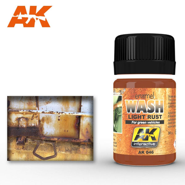 AK-Interactive AK046 Wash – Light Rust 35ml